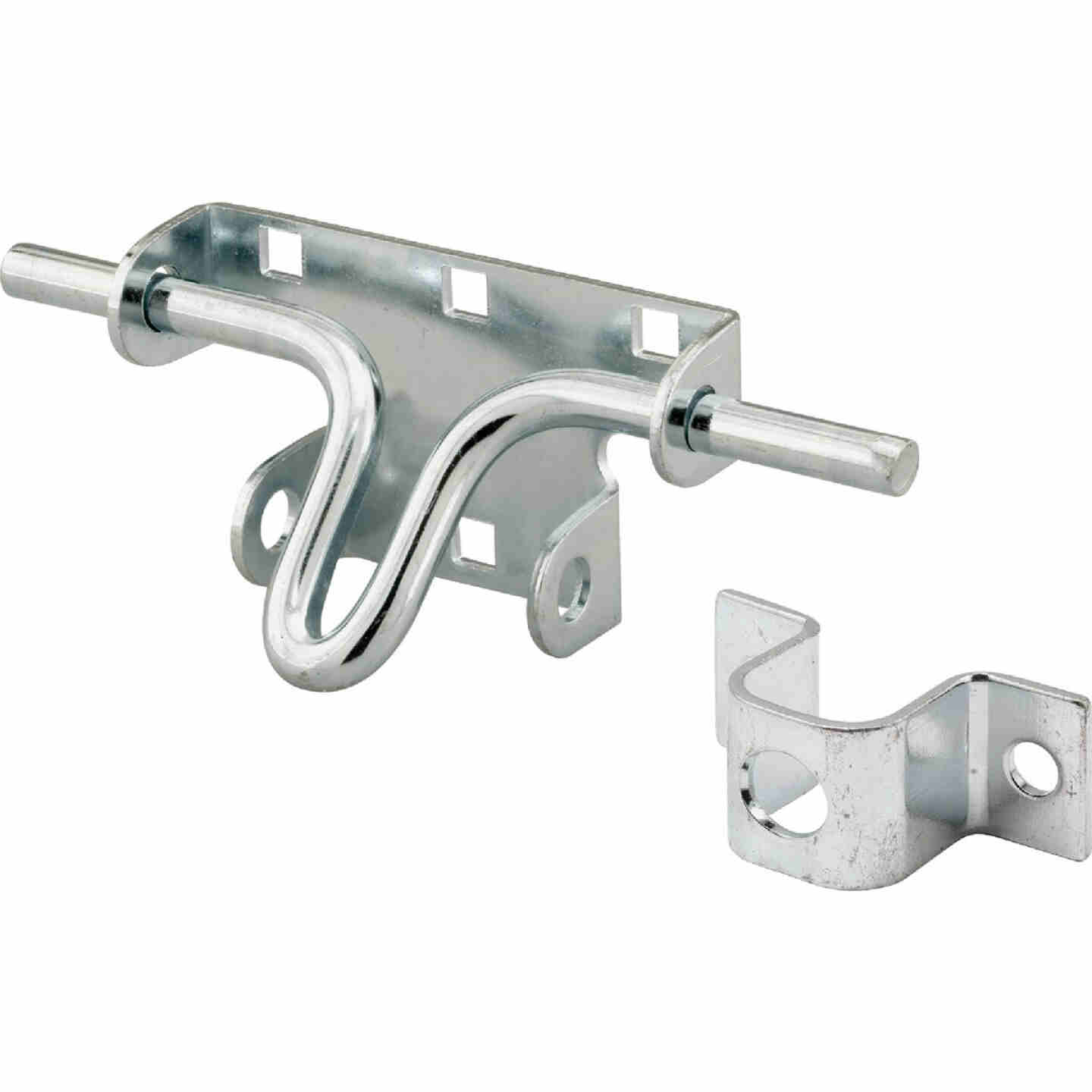 Prime-Line Zinc Plated Steel Slide Bolt Latch Image 1