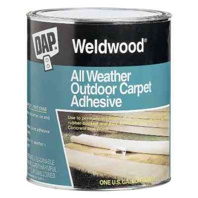 DAP Weldwood All Weather Outdoor Carpet Adhesive, Quart