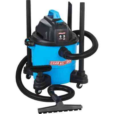 Channellock 6 Gal. 3.0-Peak HP Wet/Dry Vacuum