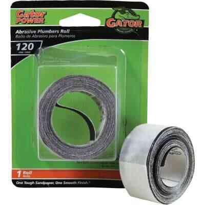 Gator 1 In. x 10 Ft. 120-Grit Plumber's Abrasive Sand Cloth