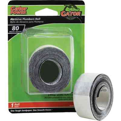 Gator 1 In. x 10 Ft. 80-Grit Plumber's Abrasive Sand Cloth