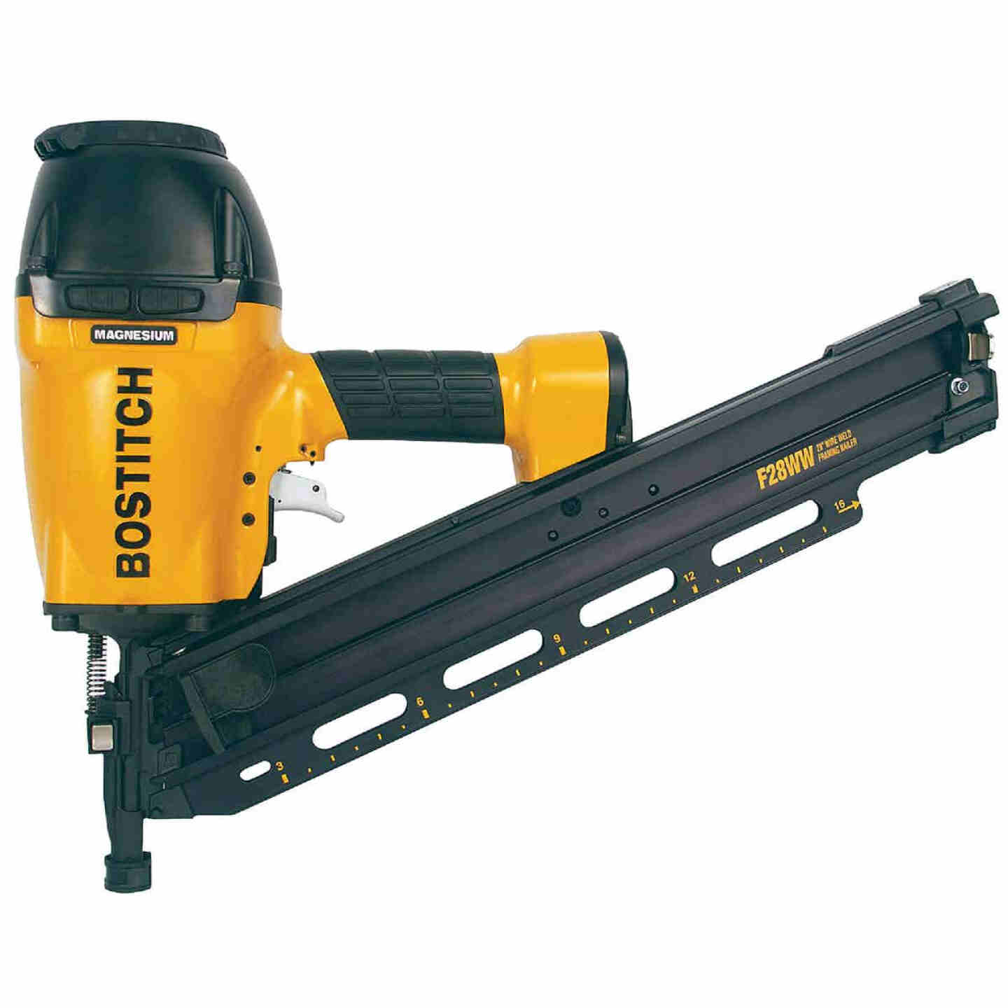Bostitch 28 Degree 3-1/2 In. Wire Weld Industrial Framing Nailer Image 1