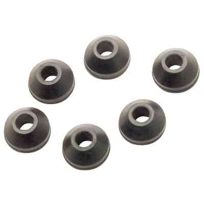 Do it 19/32 In. Black Beveled Faucet Washer (6 Ct.)