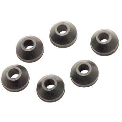 Do it 3/4 In. Black Beveled Faucet Washer (6 Ct.)