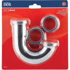 Do it 1-1/4 In. Chrome Plated J-Bend Image 2