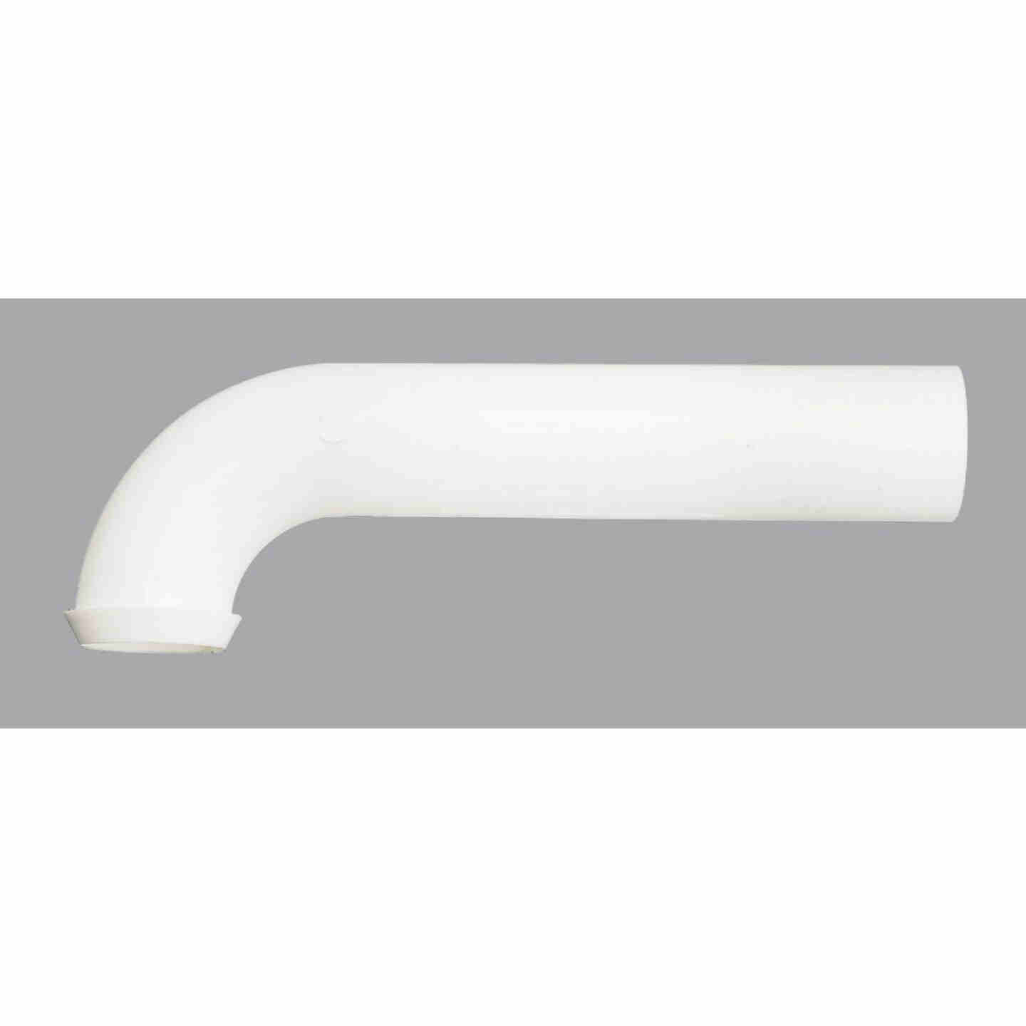 Do it 1-1/2 In. x 7 In. White Plastic Wall Tube Image 1