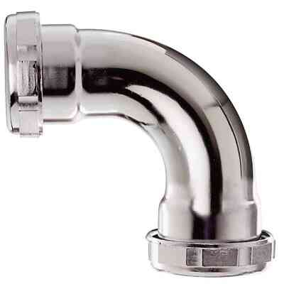 Do it 1-1/2 In. Chrome-Plated Elbow