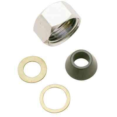 Do it 1/2 In. x 7/16 In. Slip-Joint Nut Set