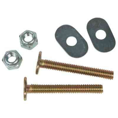 Do it 1/4 In. x 2-1/2 In. Brass Plated Steel Toilet Bolts (2 Ct.)