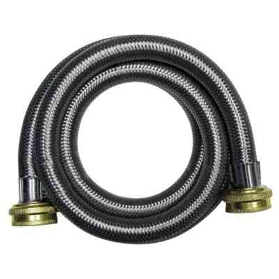 B&K 4 Ft. Stainless Steel 125 psi Washing Machine Hose