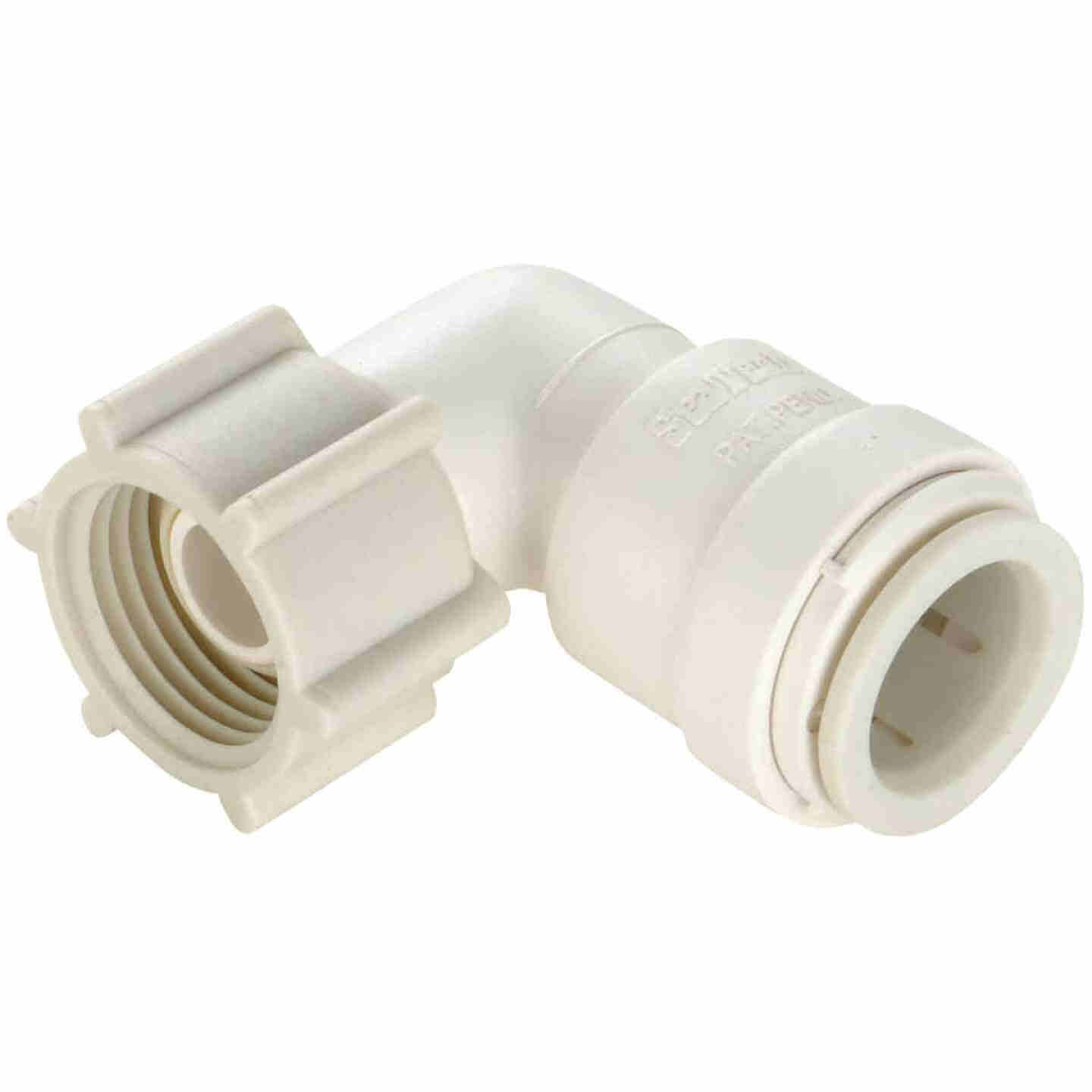 Watts 1/2 In. CTS x 1/2 In. FPT 90 Deg. Quick Connect Plastic Elbow (1/4 Bend) Image 1