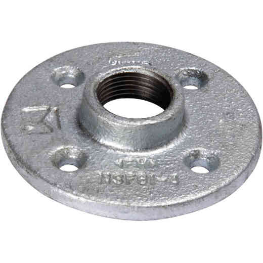 Southland 2 In. Malleable Iron Galvanized Floor Flange
