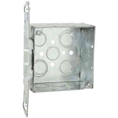 Raco Bracket Mount 4 In. x 4 In. Welded Steel Square Box
