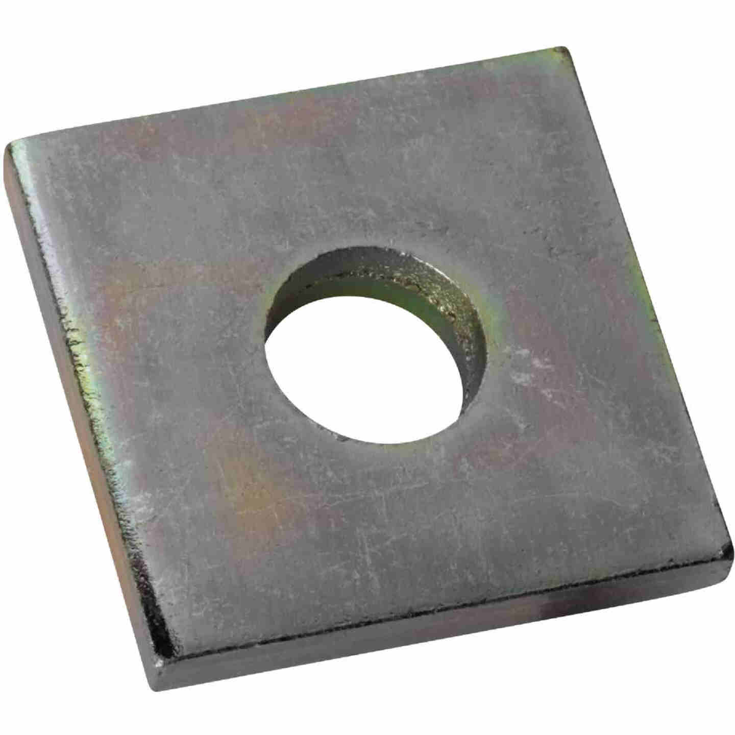 Superstrut 1-5/8 In. Square 3/8 In. Bolt Size Goldgalv Electroplated Zinc Square Washer Image 1