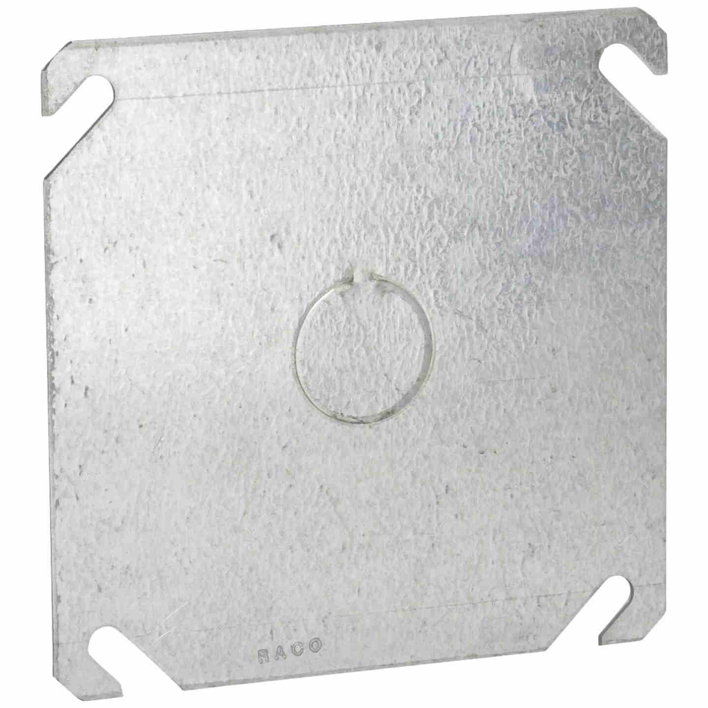 Raco 1/2 In. Knockout 4 In. x 4 In. Square Blank Cover Image 1