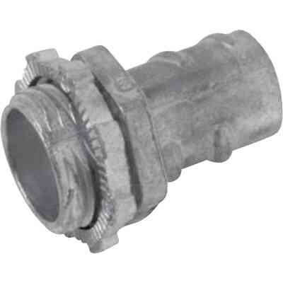 Halex 1/2 In. Screw-In Armored Cable/Conduit Connector