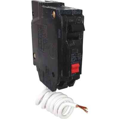 GE THQL 30A Single-Pole GFCI Breaker