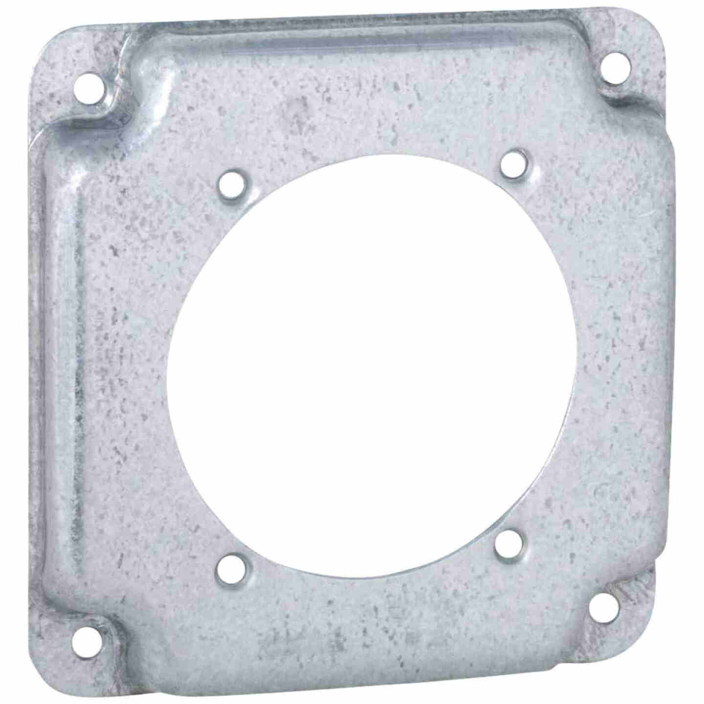 Raco 2.465 In. Dia. Receptacle 4 In. x 4 In. Square Device Cover Image 1