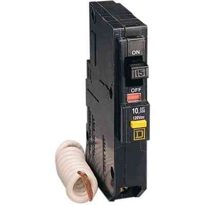 Square D QO 20A Single-Pole GFCI Breaker