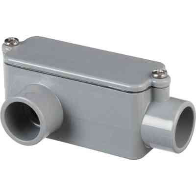 Carlon 1/2 In. PVC LR Access Fitting