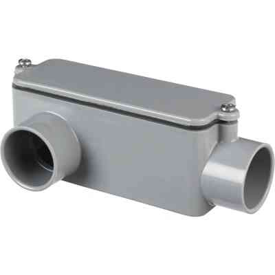 Carlon 1 In. PVC LR Access Fitting