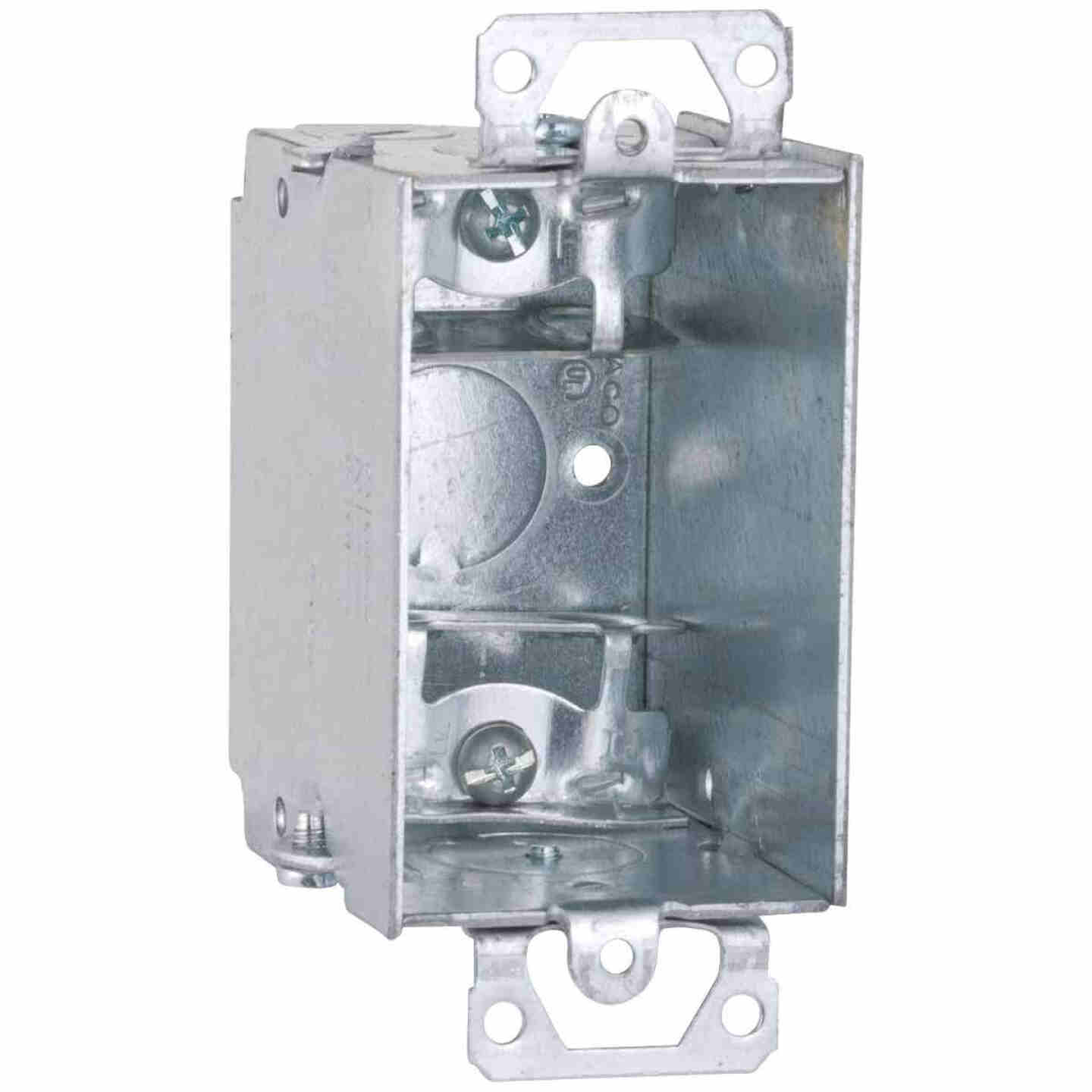 Raco 1-Gang Steel Welded Armored Cable Wall Box Image 1