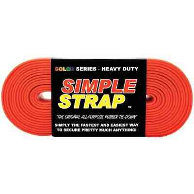 Simple Strap 40 mm x 20 Ft. Red Heavy-Duty Tiedown Strap