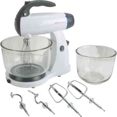 Sunbeam Mixmaster 12-Speed White Stand Mixer