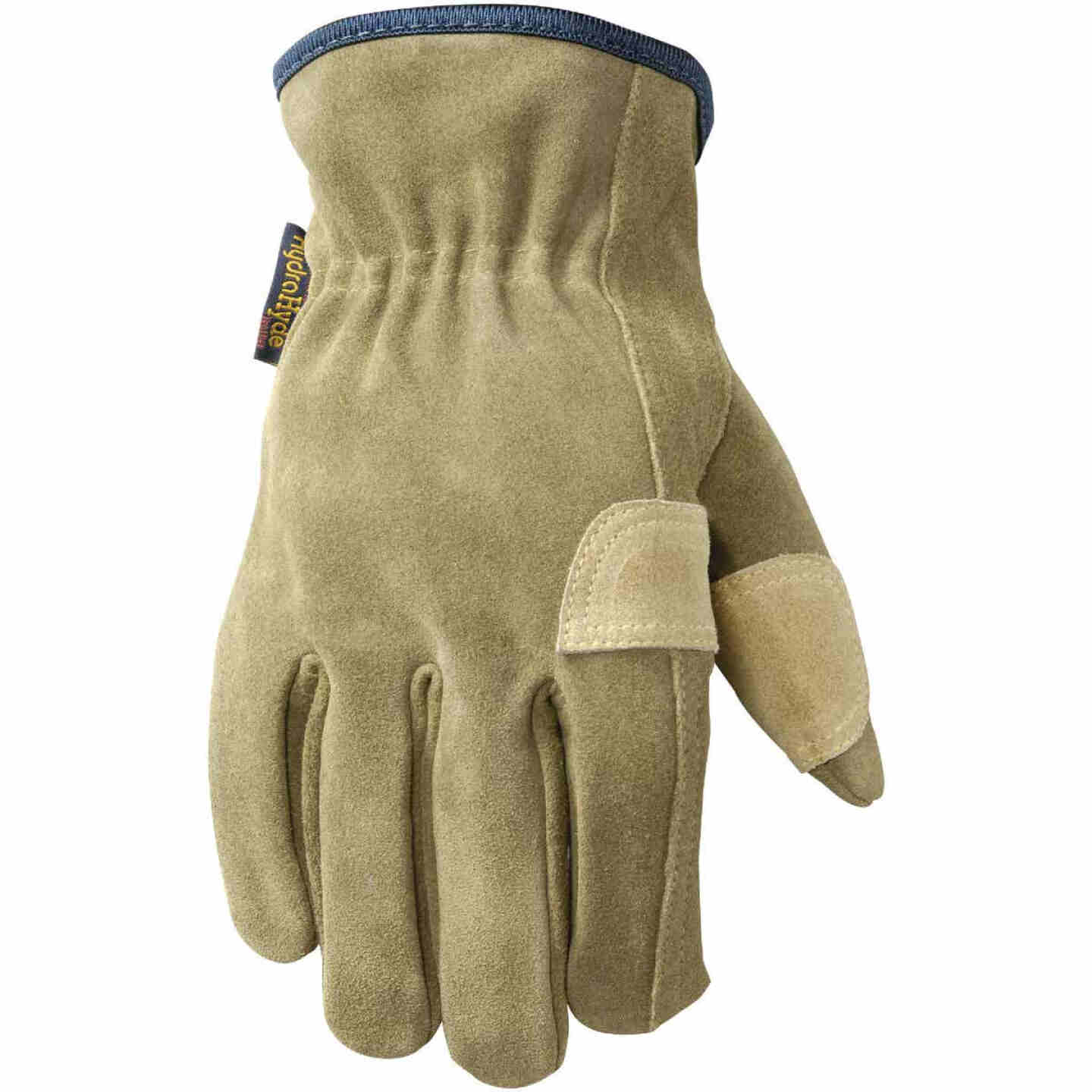Wells Lamont HydraHyde Men's Large Suede Leather Work Glove Image 1