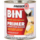 Zinsser B-I-N Shellac-Based Ultimate Stain Blocker Interior & Spot Exterior Primer, White, 1 Qt. Image 1