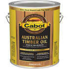 Cabot Australian Timber Oil Translucent Exterior Oil Finish, Amberwood, 1 Gal. Image 1