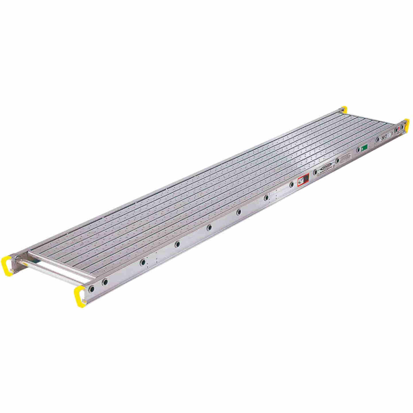 Werner Task-Master 2 Person, 500 LB. Load Capacity 16 Ft. Aluminum Stage Extension Plank Image 1