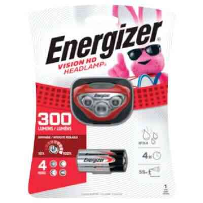 Energizer Vision HD 300 Lm. LED 3AAA Headlamp