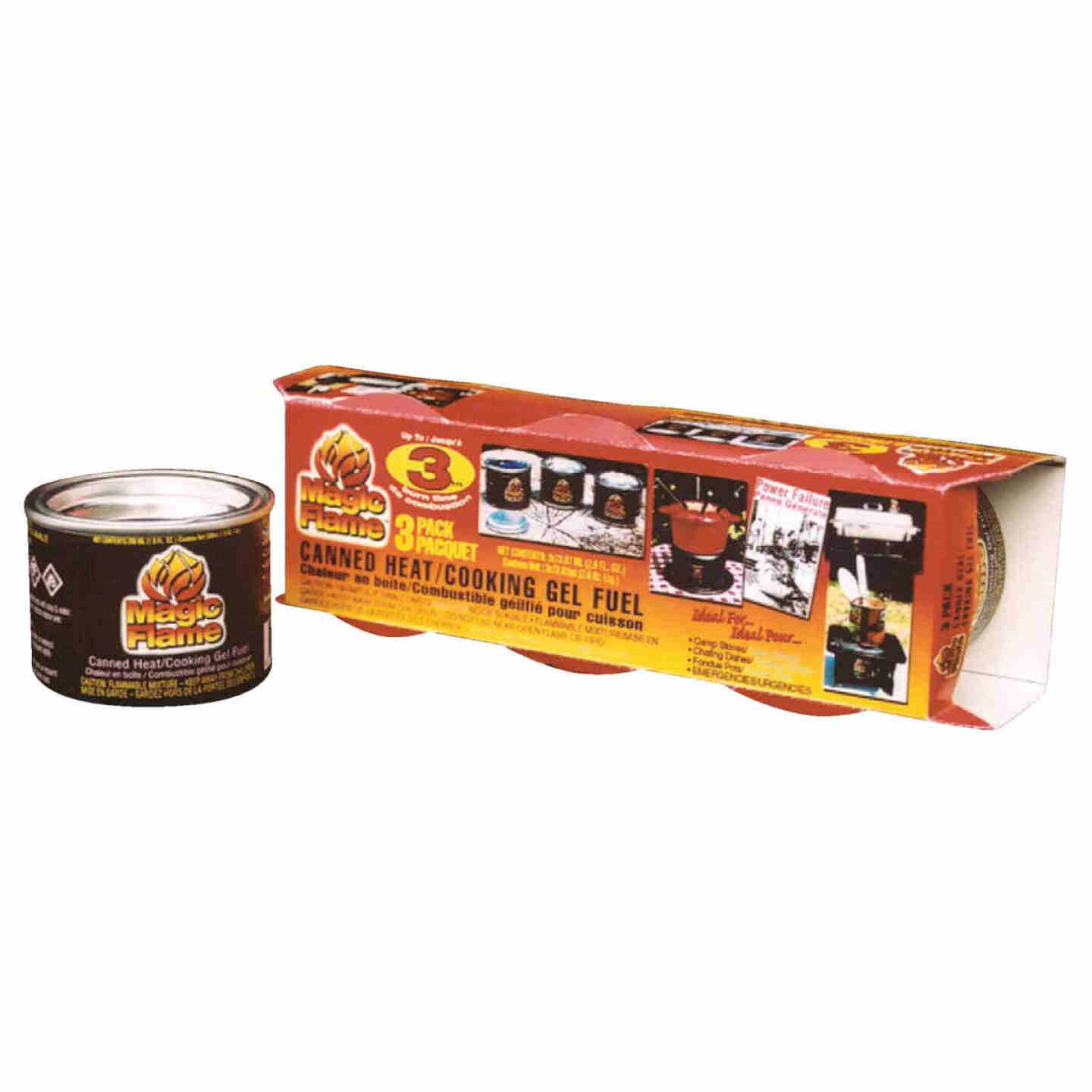 Scientific Utility Magic Flame 2.6 Oz. Canned Cooking Fuel (3-Pack) Image 1