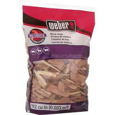 Weber FireSpice 192 Cu. In. Mesquite Smoking Chips