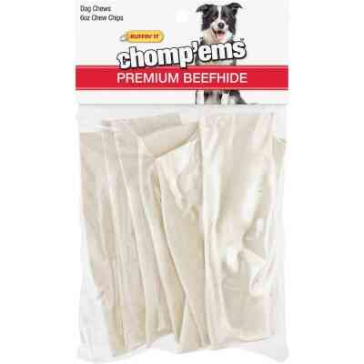 Westminster Pet Ruffin' it Chomp'ems Beef 6 Oz. Rawhide Chips