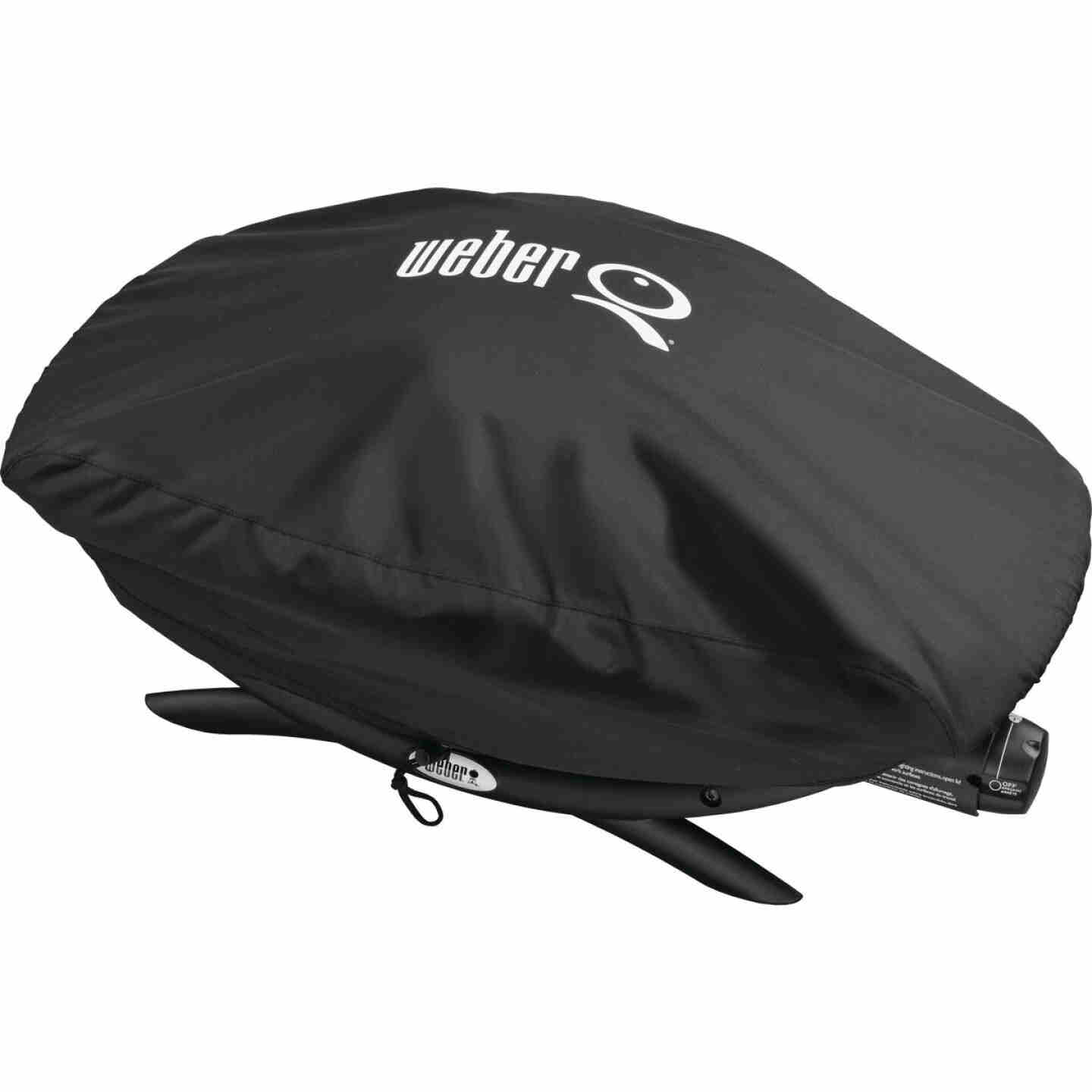Weber Q 200/2000 21 In. Black Vinyl Grill Cover Image 2