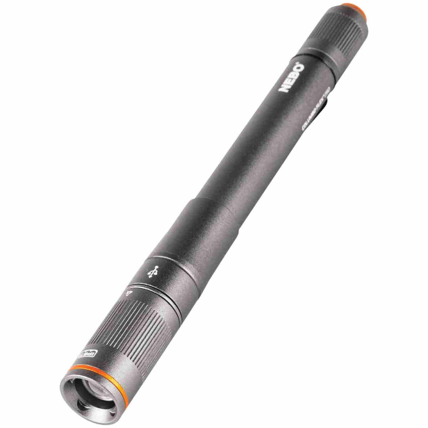 Nebo Columbo Flex LED Anodized Aluminum LED Rechargeable Penlight Image 1