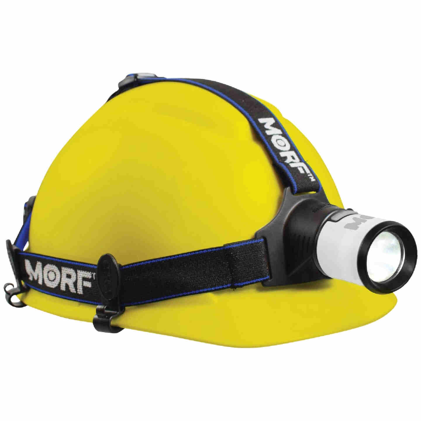 Police Security MORF 300 Lm. LED 4AA 3-In-1 Removable Lantern Headlamp Image 9